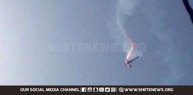 US UAV shot down on Iraq-Syria border local media