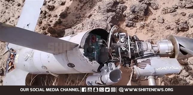 Yemeni air defenses shoot down Saudi-led reconnaissance drone in Ma'rib